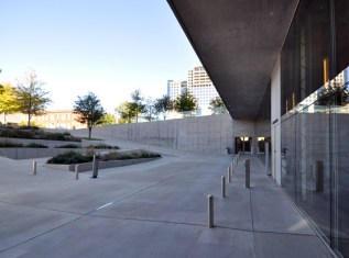 Wyly Theatre Entrance plaza