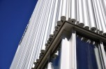Wyly Theatre aluminum sections at the bottom