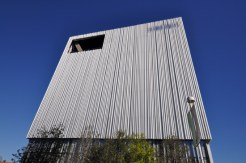 Wyly Theatre West elevation
