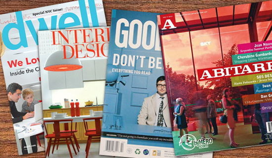 Architectural and Interior Design Magazines
