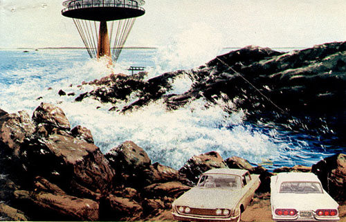 Rudy Hermes and Charley Harper Ford Ads