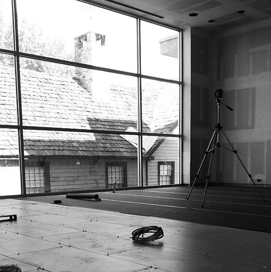 modern house living room drywall