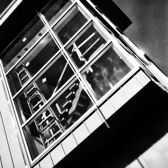 Modern house screen window