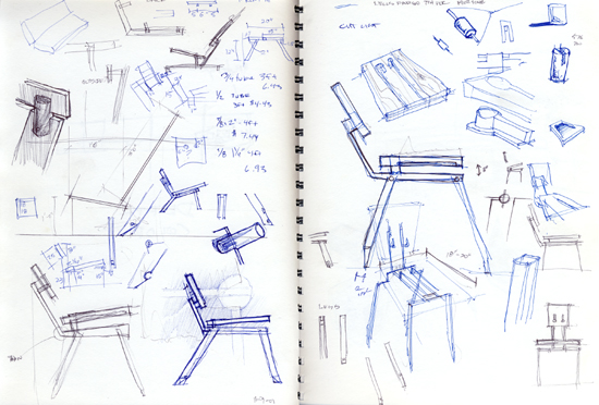 cantilever chair by scott taylor