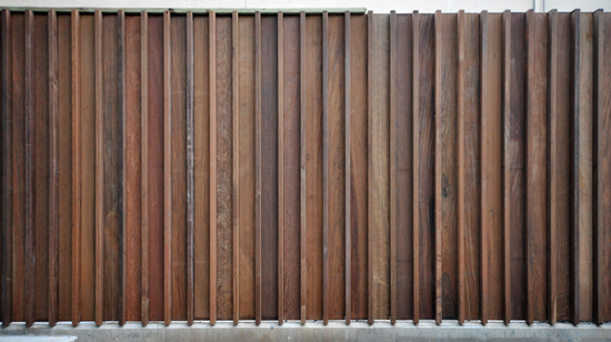 Wood Elevation S : Modern fence details life of an architect