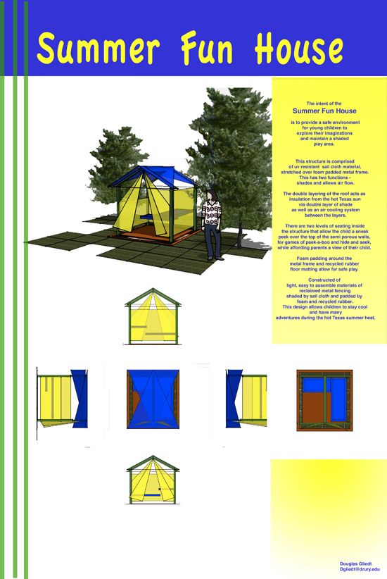 Summer Fun House by Douglas Gliedt