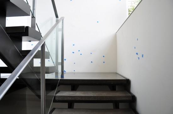 modern stairs - punchlist