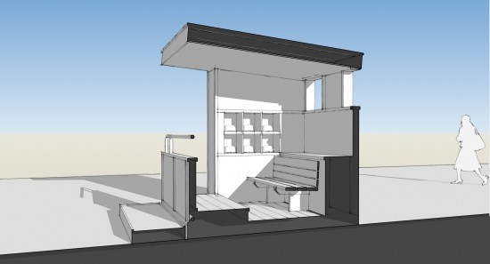 2012 Life of an Architect Playhouse Design - the 'Dugout'