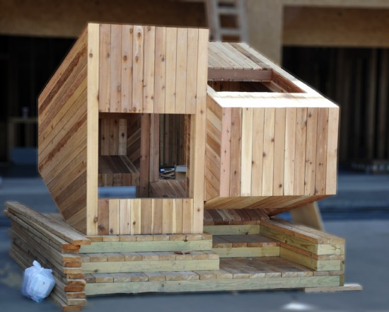 Nooks and Crannies Playhouse by Bogdan Tomalevski and Tarek Rex Abdel-Ghaffar