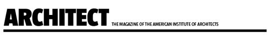 Architect Magazine header