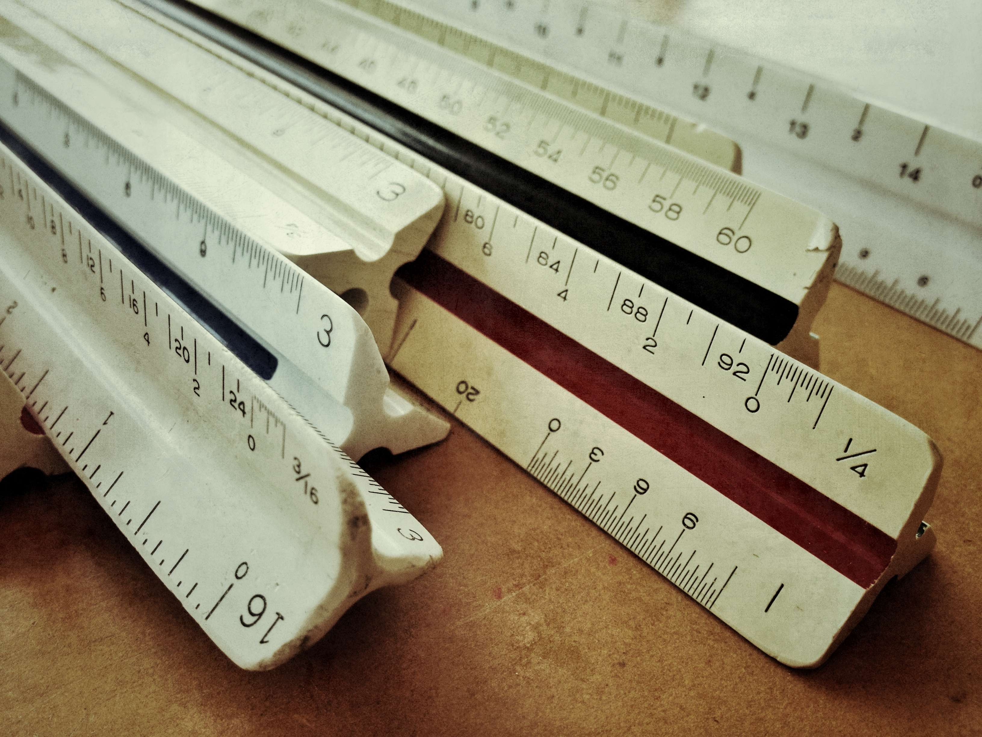 Architect And Engineering Scales