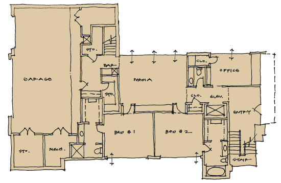 woodland lower level plan 01