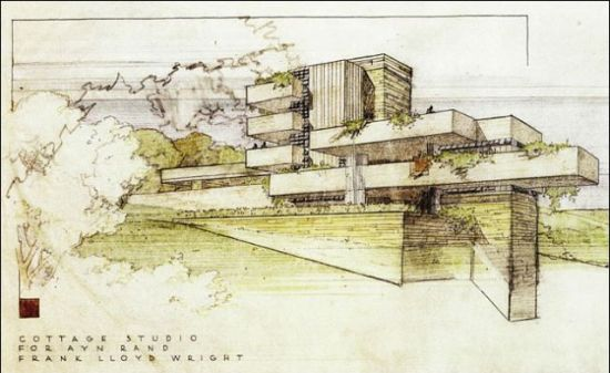 Frank Lloyd Wright - Studio for Ayn Rand