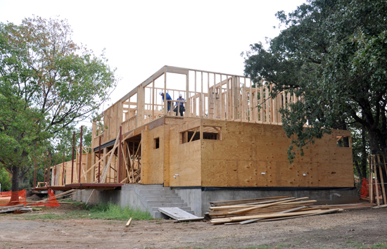 second floor framing