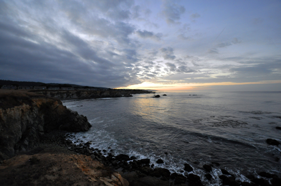 Sunrise in Sea Ranch, California