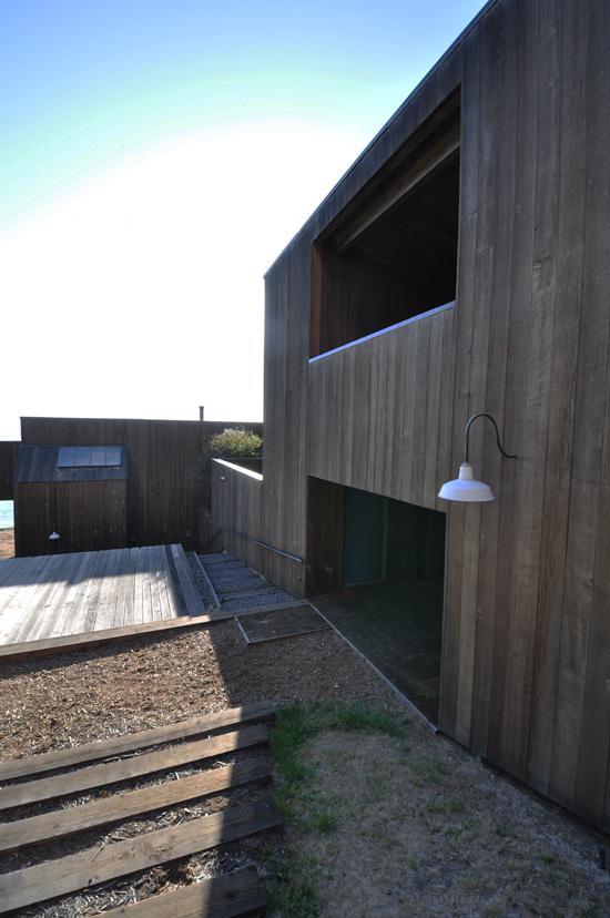 Interior Courtyard at Condominium One at Sea Ranch