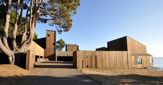 Condominium One at Sea Ranch - parking court
