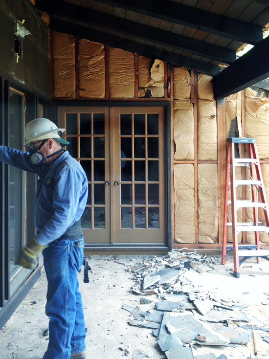 Interior Playroom Demolition