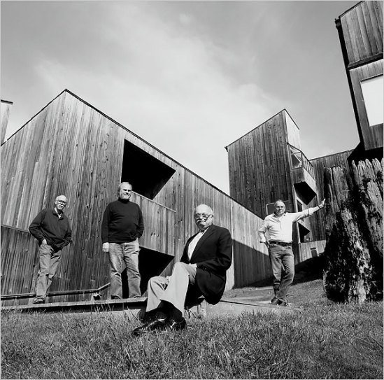 Sea Ranch Condominium one with architects MLTW