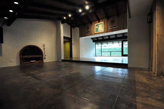 Refinishing concrete floors life of an architect - Interior concrete floor resurfacing ...