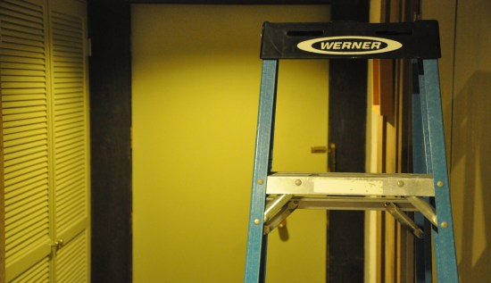 ladder and home remodeling