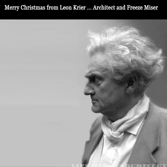Architect Leon Krier