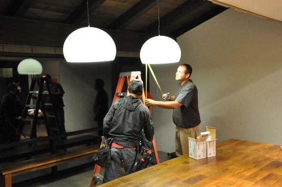 Hanging Kartell FL/Y Light Fixtures