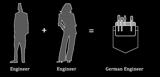 German Engineer baby