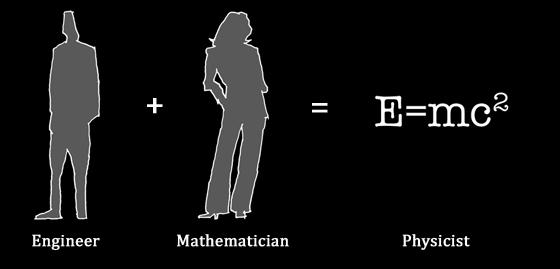 Physicist baby