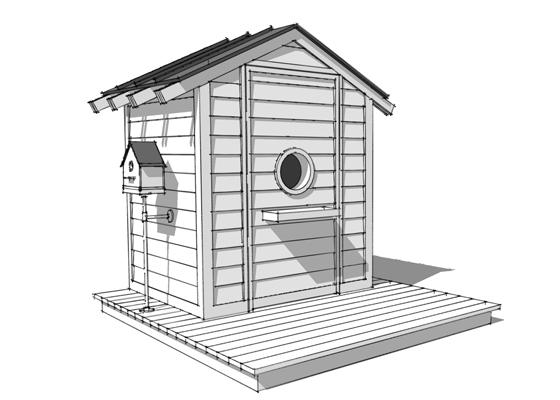 The Birdhouse Playhouse from Bob Borson