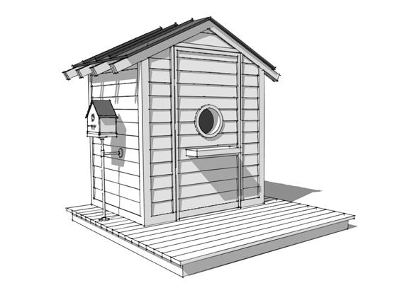 The Birdhouse Playhouse from Bob Borson