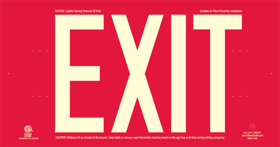 Red Exit Sign - Quitting Your Job