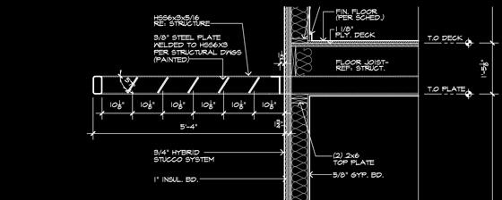 Cottonwood Modern Steel Trellis Life Of An Architect