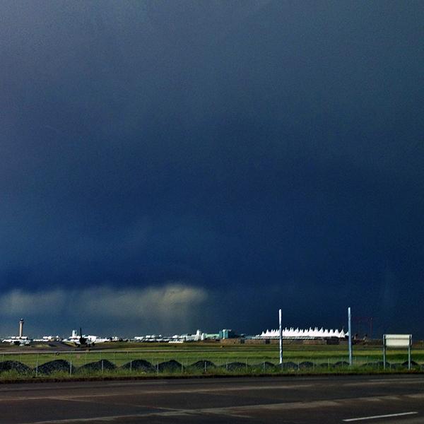Denver International Airport Delayed Flight