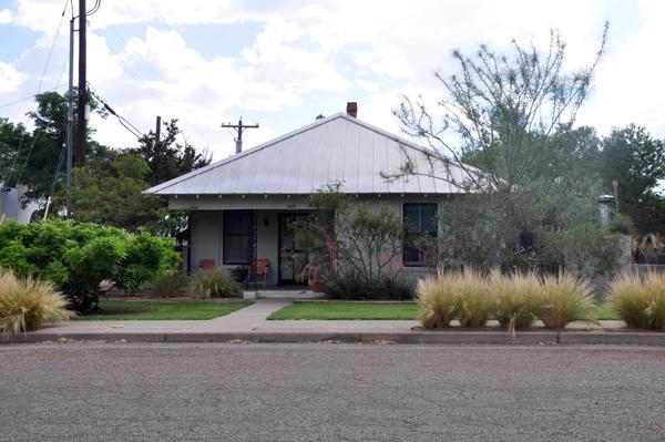 Houses in Marfa, Texas - photo by Dallas Architect Bob Borson