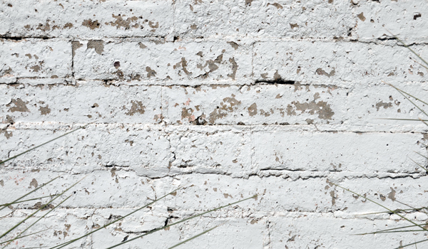 Paint Peeling off Standard Brick
