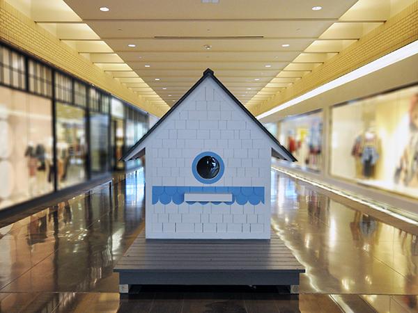 Bird Playhouse designed by Dallas Architect Bob Borson