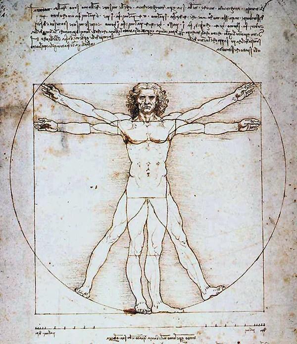 Leonardo da Vinci - The Vitruvian Man