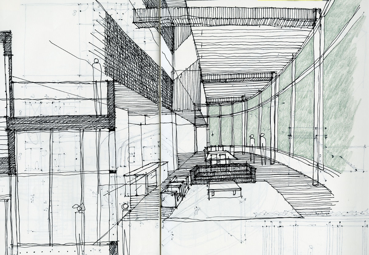 Architectural sketching life of an architect for Types of architecture design