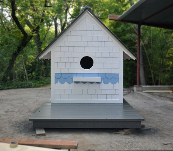 Birdhouse Playhouse by Dallas architect Bob Borson