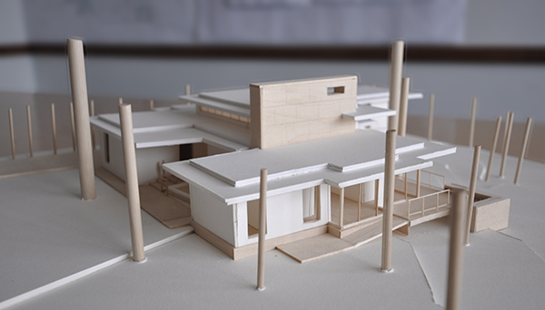 Architectural Model - South East Elevation