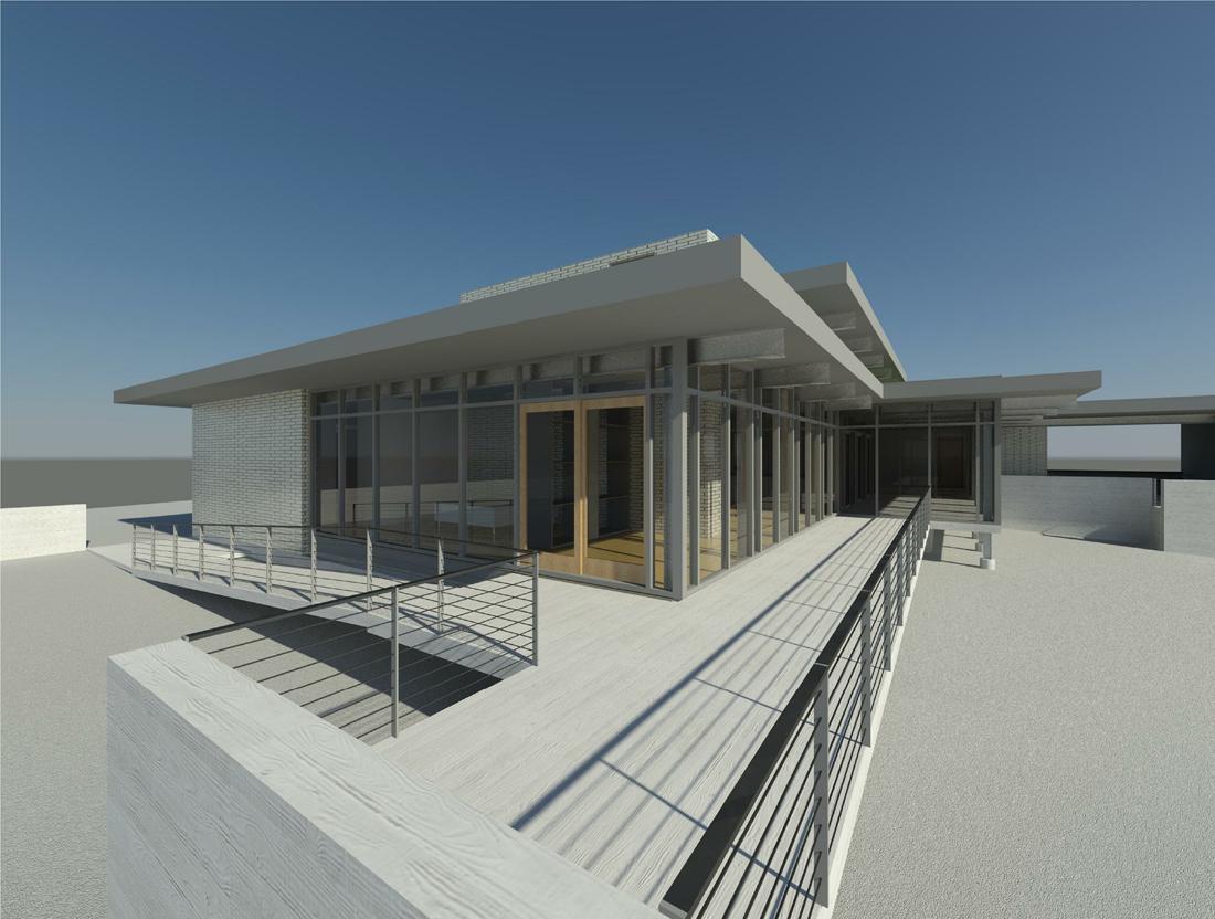 KHouse Modern Terrace Perspective