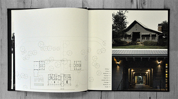 Michael Malone Project Book Lyday Farms Residence