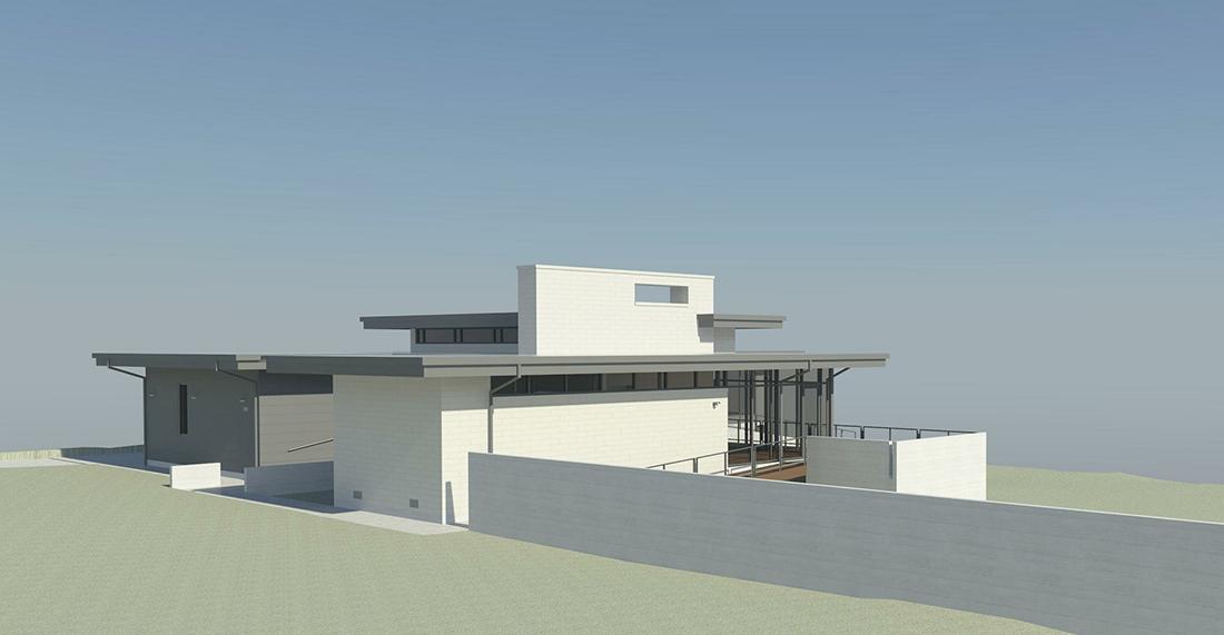 Khouse modern progress update 03 life of an architect for Modern view decking