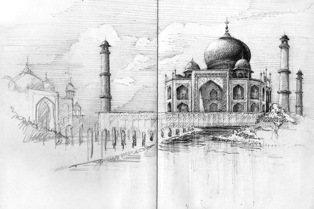 Nicholas DeBrunye Finalist Student Travel Sketch