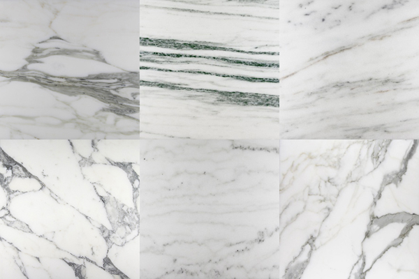 Examples of White Marble