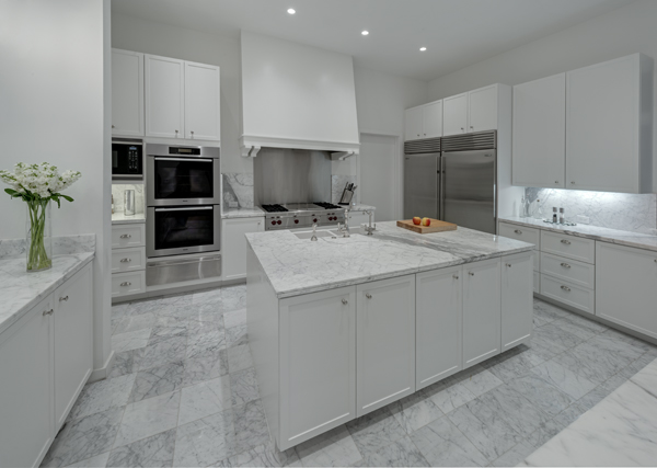White Marble Counter : Considering white marble counter tops life of an architect