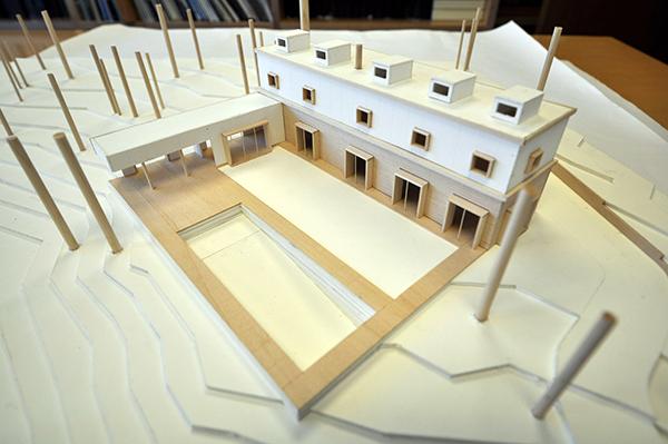 CHouse Modern Model Pool Aerial