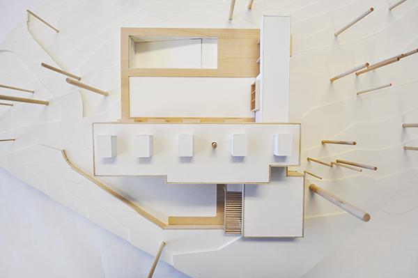 CHouse Modern Model plan view