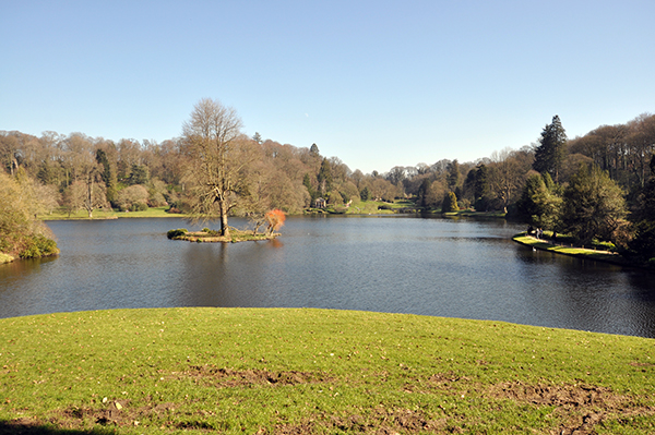 Gardens at Stourhead Castle